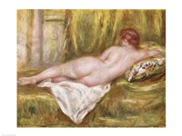 Reclining Nude from the Back Fine Art Print