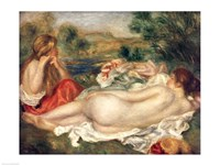 Two Bathers, 1896 Fine Art Print