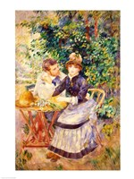 In the Garden, 1885 Fine Art Print