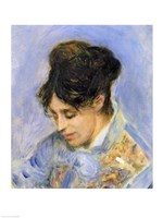 Portrait of Madame Claude Monet, 1872 by Pierre-Auguste Renoir, 1872 - various sizes