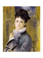 Portrait of Madame Claude Monet by Pierre-Auguste Renoir - various sizes