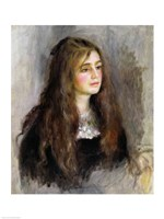 Portrait of Julie Manet Fine Art Print