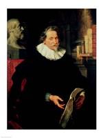 Portrait of Ludovicus Nonnius by Peter Paul Rubens - various sizes