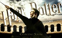 Harry Potter and the Deathly Hallows: Part II - coming soon Fine Art Print