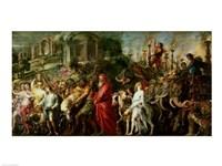 A Roman Triumph, c.1630 Fine Art Print