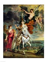 The Medici Cycle: The Triumph of Juliers Fine Art Print