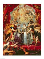 The Medici Cycle: Exchange of the Two Princesses of France and Spain Fine Art Print