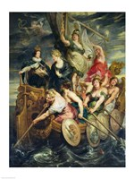 The Majority of Louis XIII by Peter Paul Rubens - various sizes