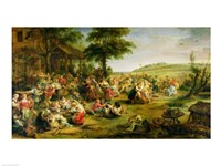 The Kermesse by Peter Paul Rubens - various sizes, FulcrumGallery.com brand