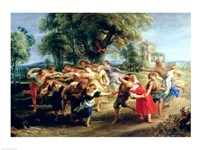 A Peasant Dance Fine Art Print
