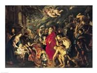 Adoration of the Magi, 1610 Fine Art Print