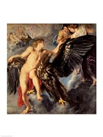 The Kidnapping of Ganymede Fine Art Print