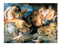 The Four Continents, 1615 Fine Art Print
