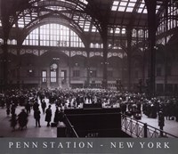 Penn Station-New York Framed Print
