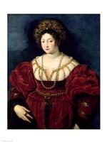 Posthumous portrait of Isabella d'Este by Peter Paul Rubens - various sizes