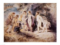 The Judgement of Paris Fine Art Print