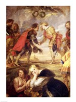 The Meeting of Ferdinand II Fine Art Print