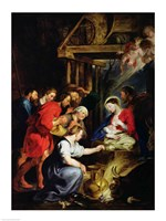 Adoration of the Shepherds by Peter Paul Rubens - various sizes