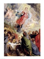 The Assumption of the Virgin Mary Fine Art Print