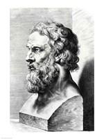 Bust of Plato Fine Art Print