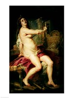 The Death of Dido Fine Art Print