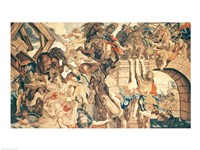 Battle of Pons Milvius Fine Art Print