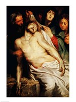 Triptych of Christ on the Straw by Peter Paul Rubens - various sizes