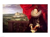 The Infanta Isabella Clara Eugenia Fine Art Print