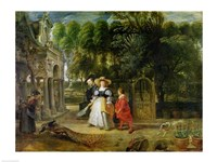 Rubens and Helene Fourment by Peter Paul Rubens - various sizes
