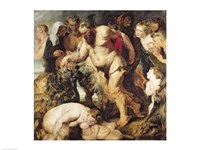 The Drunken Silenus Fine Art Print