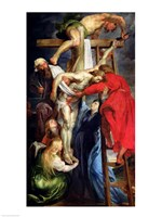 The Descent from the Cross by Peter Paul Rubens - various sizes
