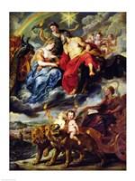 The Medici Cycle: Meeting of Henri IV Fine Art Print