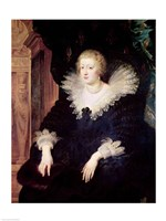 Portrait of Anne of Austria by Peter Paul Rubens - various sizes, FulcrumGallery.com brand