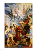 The Stoning of St. Stephen Fine Art Print