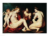 Venus, Cupid, Bacchus and Ceres, 1613 Fine Art Print