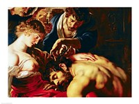 Samson and Delilah Fine Art Print