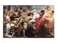 Lapiths and Centaurs by Peter Paul Rubens - various sizes