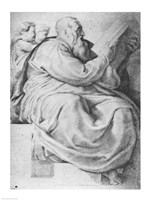 The Prophet Zacharias, after Michangelo Buonarroti by Peter Paul Rubens - various sizes