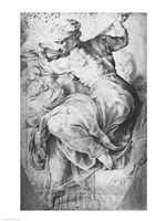 The Libyan Sibyl, after Michangelo Buonarroti Fine Art Print