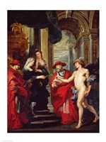 The Medici Cycle: The Treaty of Angouleme 30 April 1619 Fine Art Print