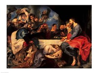 Feast in the house of Simon the Pharisee, 1620 by Peter Paul Rubens, 1620 - various sizes