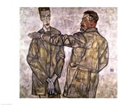 Double Portrait of Otto and Heinrich Benesch by Egon Schiele - various sizes