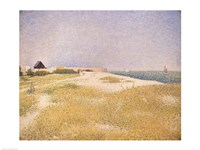 View of Fort Samson, 1885 by Georges Seurat, 1885 - various sizes - $16.49