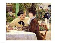 The Garden of Pere Lathuille, 1879 by Edouard Manet, 1879 - various sizes