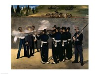 The Execution of the Emperor Maximilian by Edouard Manet - various sizes