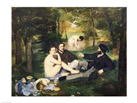 Dejeuner sur l'Herbe, 1863 Fine Art Print