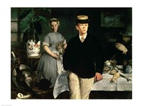 Luncheon in the Studio, 1868 by Edouard Manet, 1868 - various sizes - $16.49