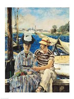 Argenteuil, 1874 by Edouard Manet, 1874 - various sizes, FulcrumGallery.com brand