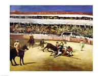 Bull Fight, 1865 Fine Art Print