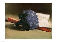 Bouquet of Violets, 1872 Fine Art Print